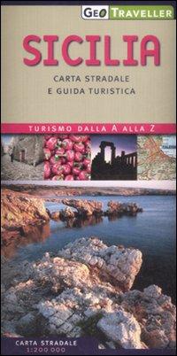 Sicilia. Carta Stradale e Guida Turistica. 1:200.000.