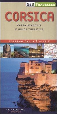 Corsica. Carta Stradale e Guida Turistica. 1:200.000.