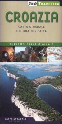 Croazia. Carta Stradale e Guida Turistica. 1:200.000.
