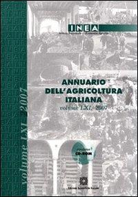 Annuario dell'agricoltura italiana. Con CD-ROM.