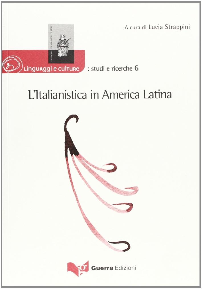 L'italianistica in America latina