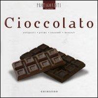 Cioccolato. Antipasti, Primi, Secondi, Dessert.