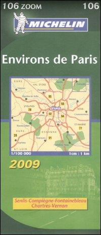 Environs de Paris 1:100.000