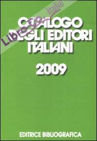 Catalogo degli editori italiani 2009
