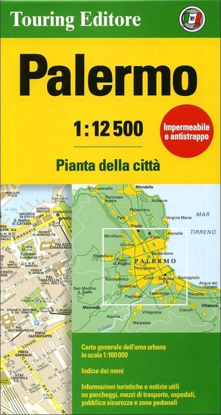 Palermo 1:12.500. Pianta della città