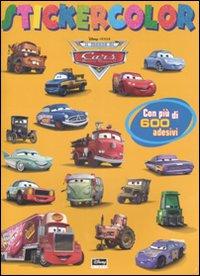 Il mondo di Cars. Stickercolor. Con adesivi