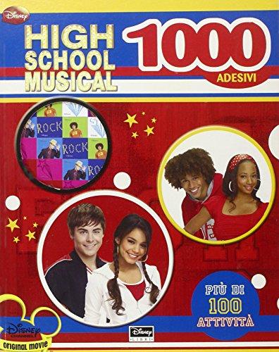 High School Musical. 1000 Adesivi. con Adesivi