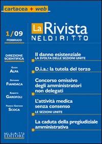 La rivista di Neldiritto (2009). Vol. 1