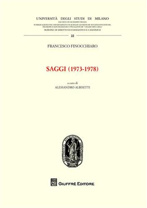Saggi (1973-1978)