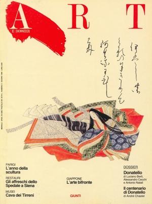 Art e dossier n. 3, Giugno 1986