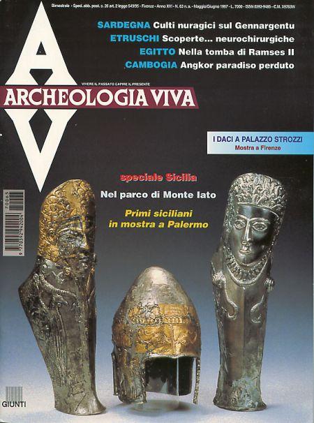Archeologia Viva n. 63 - maggio/giugno 1997