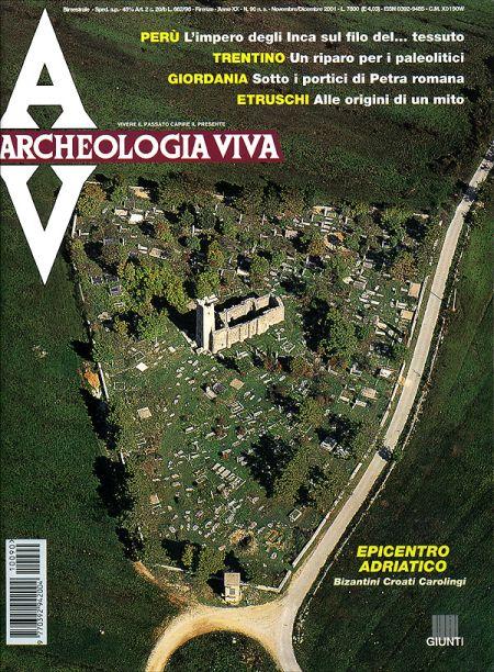 Archeologia Viva n. 90 - novembre/dicembre 2001