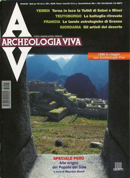 Archeologia Viva n. 67 - gennaio/febbraio 1998