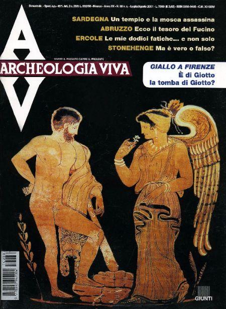 Archeologia Viva n. 88 - luglio/agosto 2001