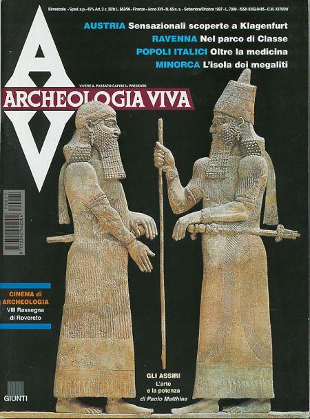 Archeologia Viva n. 65 - settembre/ottobre 1997
