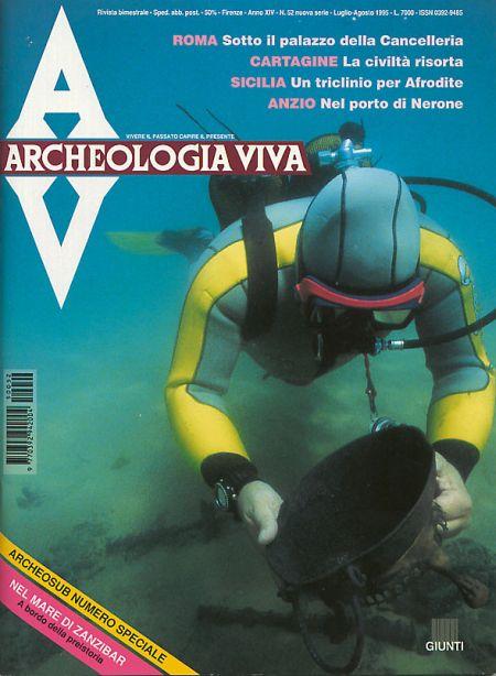 Archeologia Viva n. 52 - luglio/agosto 1995