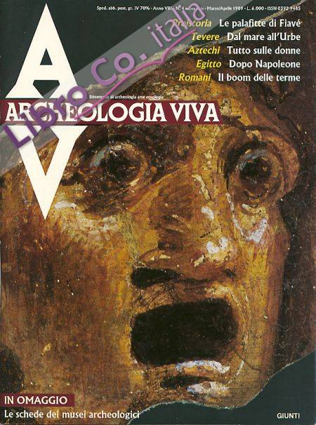 Archeologia Viva n. 4 - marzo/aprile 1989