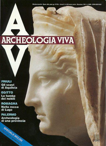 Archeologia Viva n. 25 - dicembre 1991