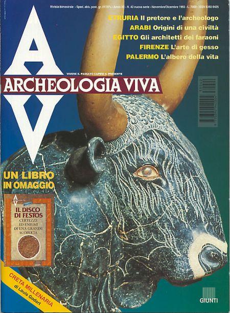 Archeologia Viva n. 42 - novembre/dicembre 1993