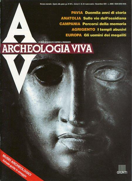 Archeologia Viva n. 24 - novembre 1991