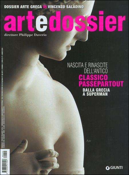 Art e dossier n. 245, giugno 2008