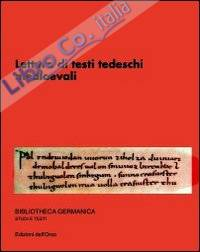 Lettura di testi tedeschi medioevali