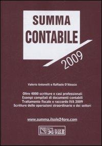 Summa contabile 2009