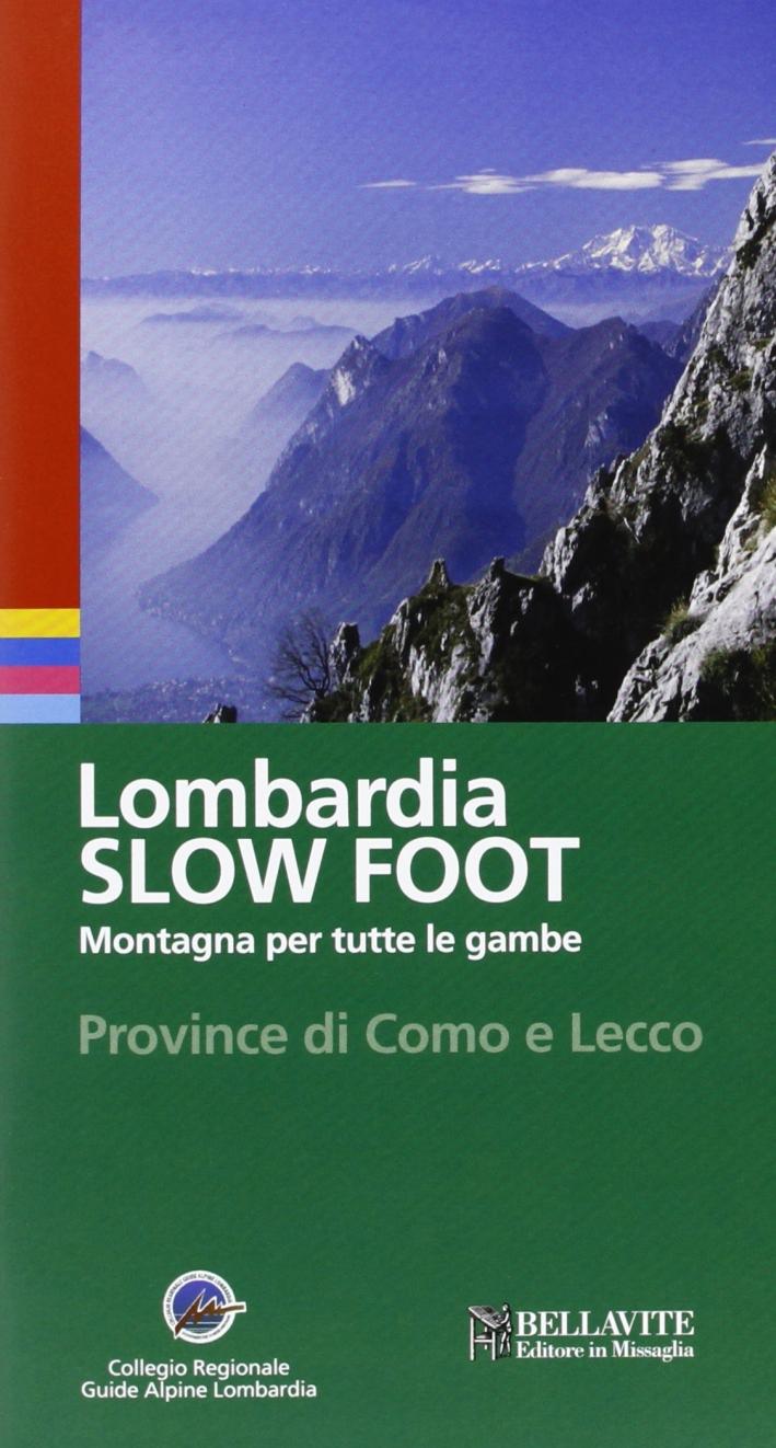 Lombardia slow foot. Montagna per tutte le gambe. Provincia di Como e Lecco