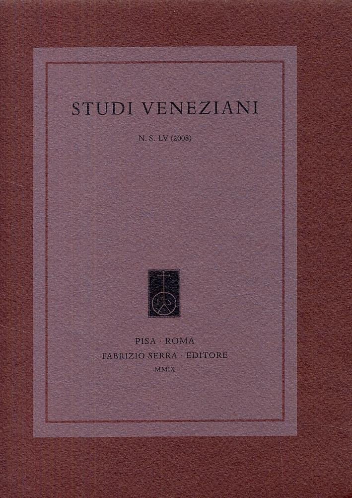 Studi Veneziani. 55. 2008