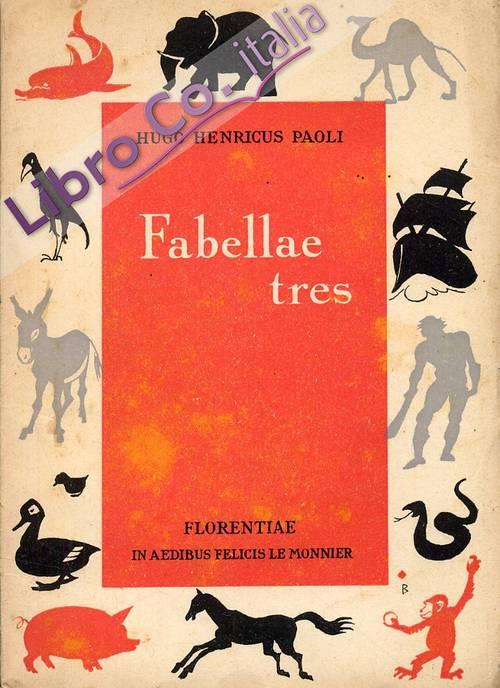 Fabelle tres. [Latin edition]