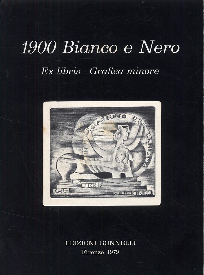 1900 Bianco e nero. Ex libris. Grafica minore