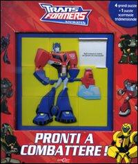 Pronti a combattere. Transformers. Libro puzzle. Ediz. illustrata