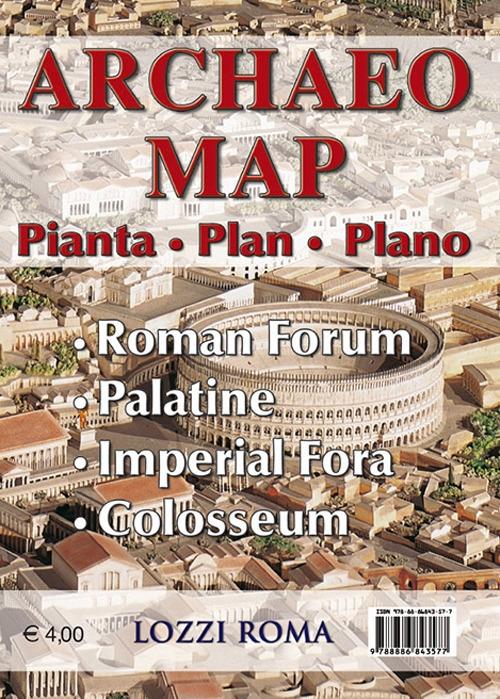 Archaeo Map. Pianta. Plan. Plano