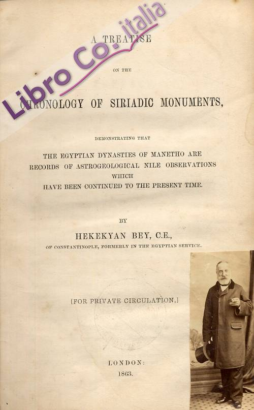 A Treatise On the Chronology of Siriadic Monuments