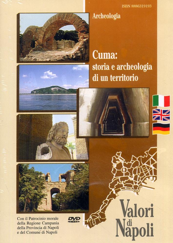 Cuma. Storia e archeologia di un territorio. [Edizione italiana, inglese e tedesca]. [DVD].