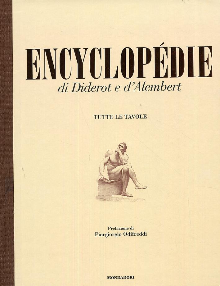 Encyclopédie di Diderot e D'Alembert. Tutte le Tavole