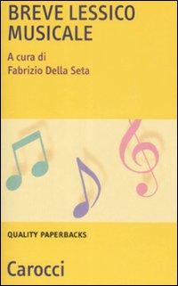 Breve Lessico Musicale.