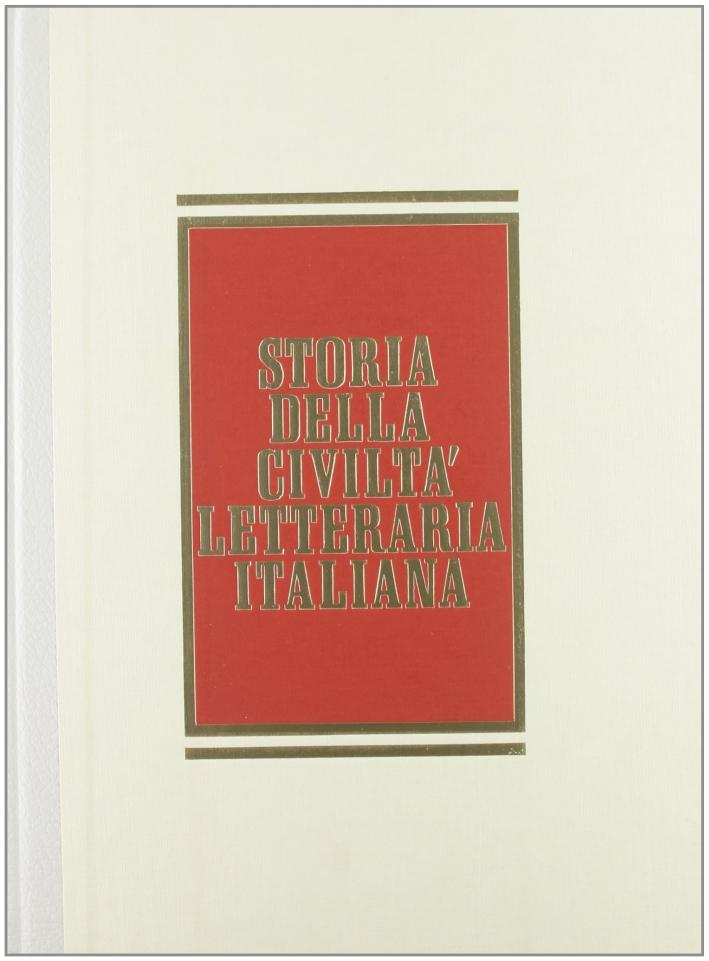Storia della civiltà letteraria italiana. Vol. 2/2