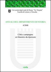 Annali del dipartimento di storia (2008). Vol. 4