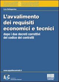 L'avvalimento dei requisiti economici e tecnici