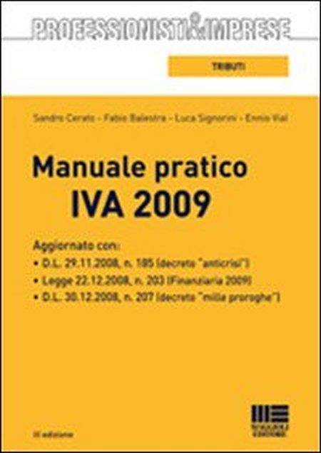 Manuale Pratico IVA 2009