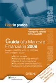 Guida alla manovra finanziaria