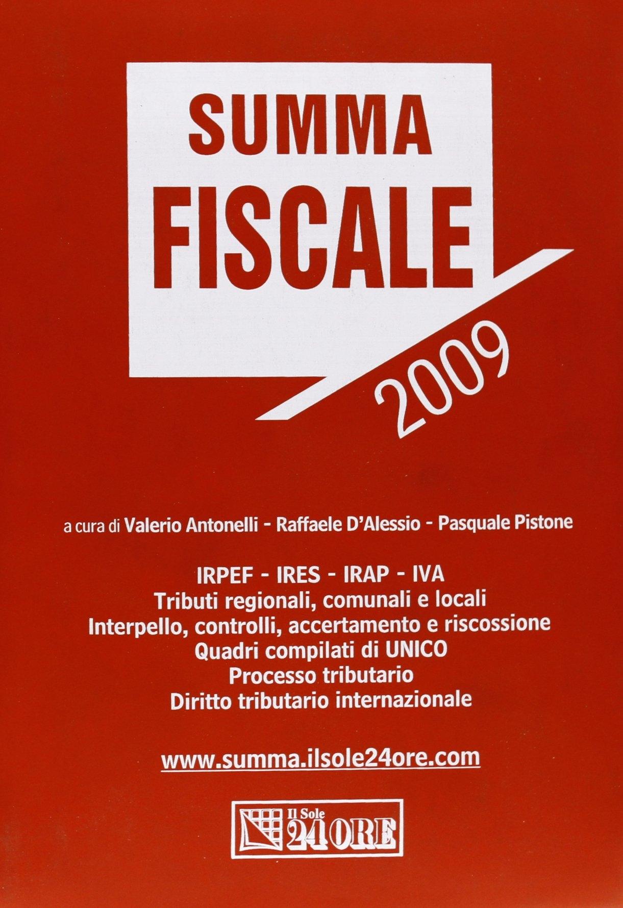 Summa fiscale 2009
