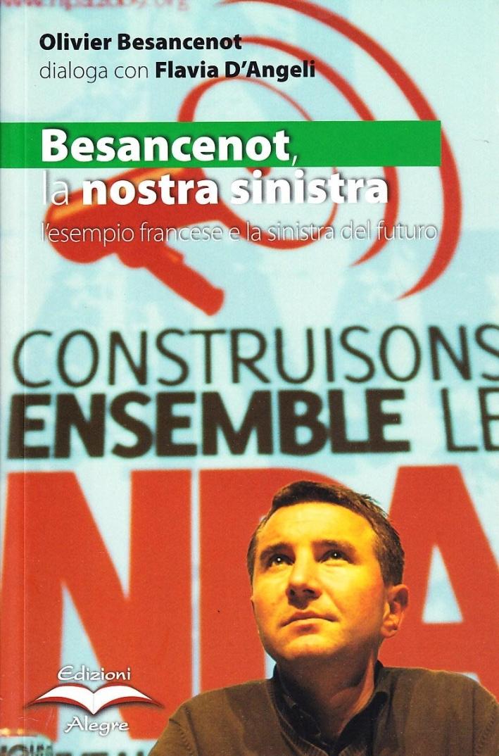 Besancenot: la nostra sinistra. L'esempio francese e la sinistra del futuro