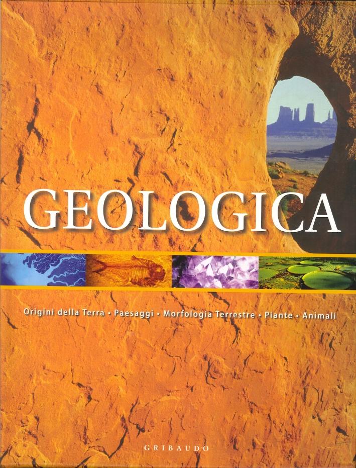 Geologica. Origine della terra, paesaggi, morfologia terrestre, piante, animali