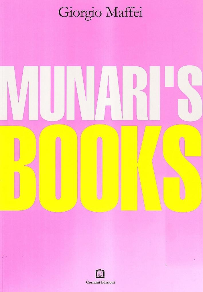 Munari's books.