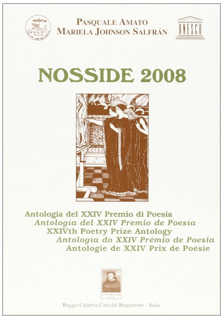 Nosside 2008. Antologia del 24ª Premio di Poesia.