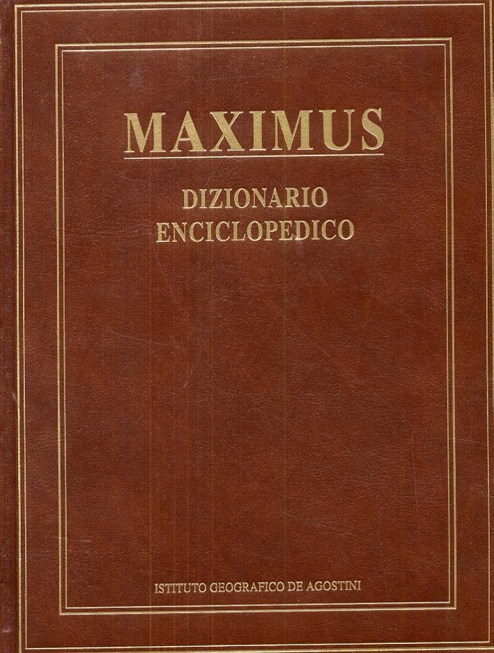 Maximus. Dizionario enciclopedico.