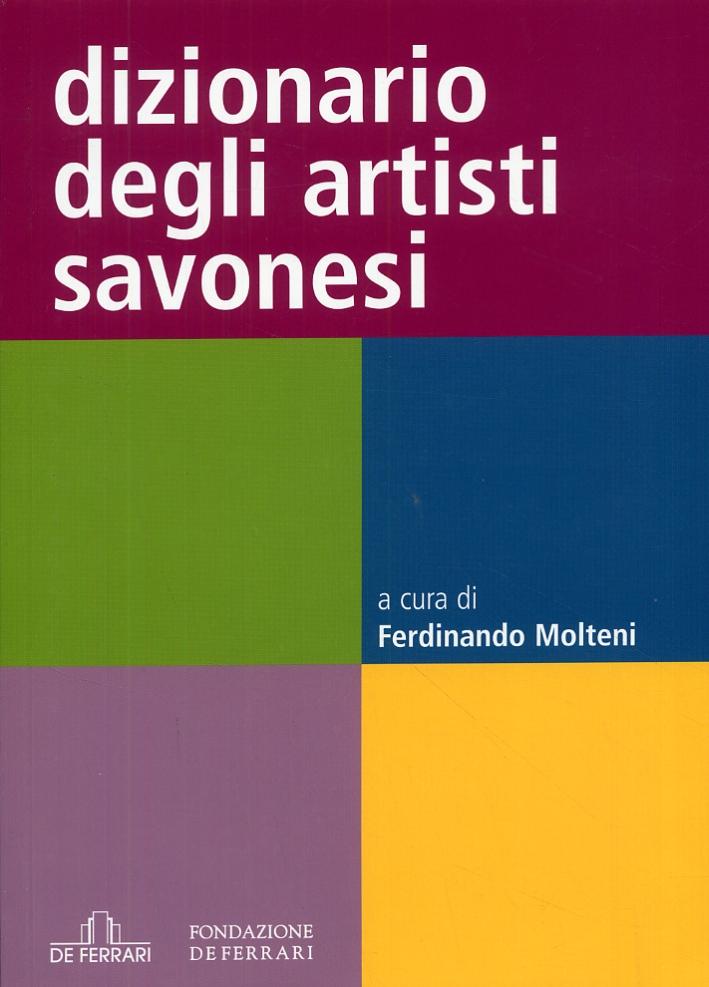 Dizionario degli artisti savonesi