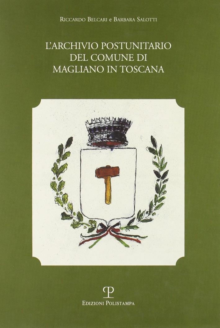 L'archivio postunitario del Comune di Magliano in Toscana